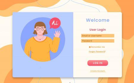 Come registrarsi e accedere all'account in IQcent