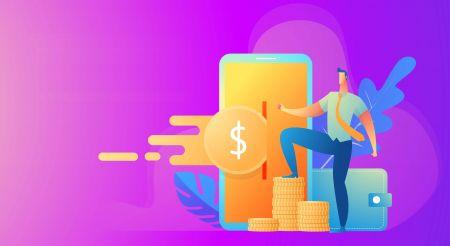 Come aprire un conto e prelevare denaro su IQcent